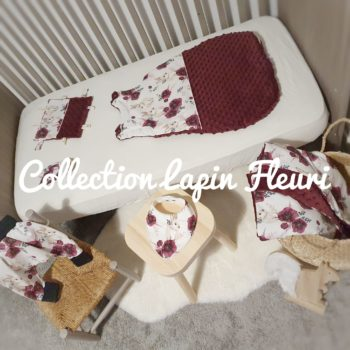 Collection Lapin fleuri